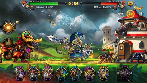 Strategie RPG Seven guardians auf Deutsch
