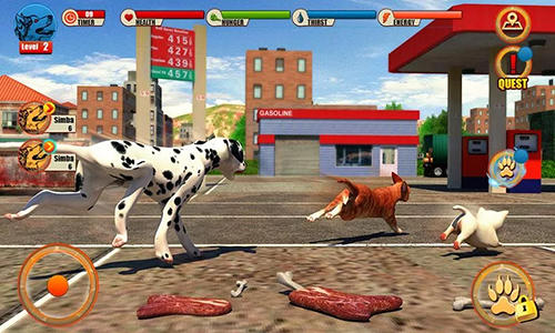 Street dog simulator 3D pour Android