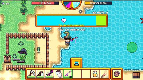 Arcade-Spiele Pixel survival game 3 für das Smartphone