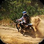 Bike racing: Motocross 3D Symbol