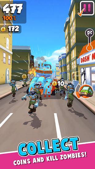 Undead city run für Android