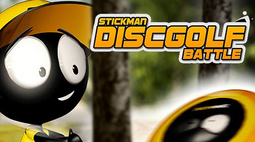 logo Stickman: Batalla de golf de disco