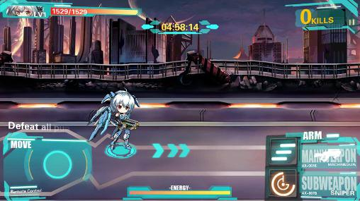 Armor girls: Z battle для Android