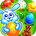 Easter sweeper: Eggs match 3 Symbol
