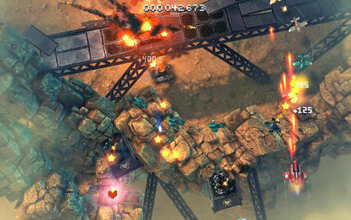 Sky force: Reloaded capture d'écran