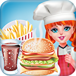 Smoky burger maker chef: Cooking games for girls icono