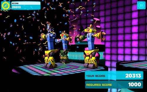 Soirée de danse des robots