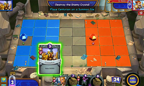 Hero academy 2: Tactics game capture d'écran 3