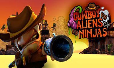 Cowboy vs. Ninjas vs. Aliens скриншот 1
