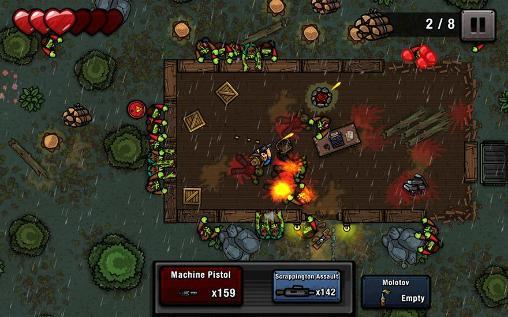 Shooter Zombie scrapper auf Deutsch