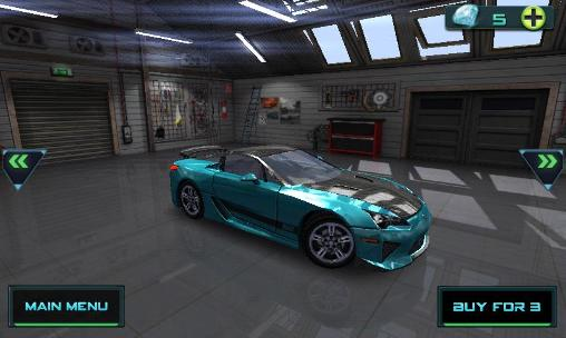 High speed 3D racing für Android