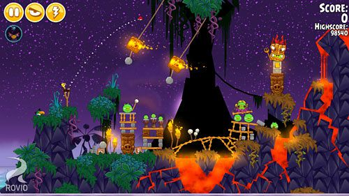 Angry Birds Seasons: Tropisches Paradies für iPhone