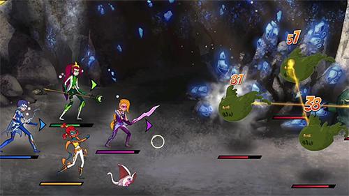 Strategische RPG-Spiele Mysticons: Secrets of Gemina auf Deutsch