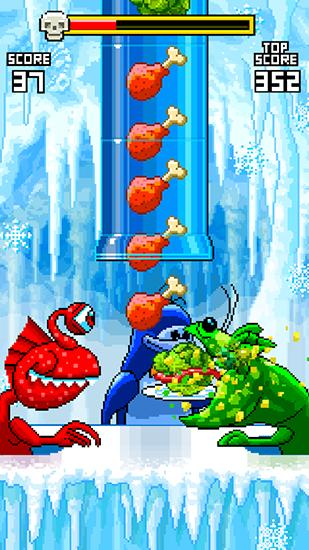 Pixelspiele Monster feeder auf Deutsch