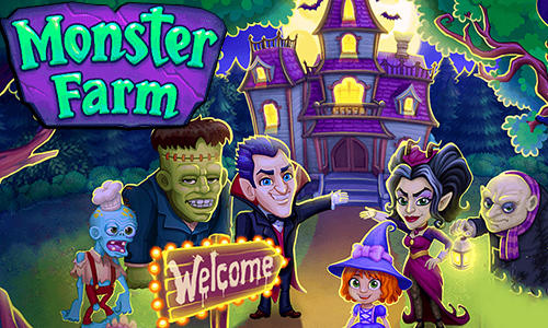 Monster farm: Happy Halloween game and ghost village captura de tela 1
