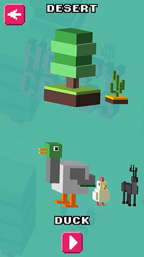 Arcade-Spiele Hoppy cross für das Smartphone