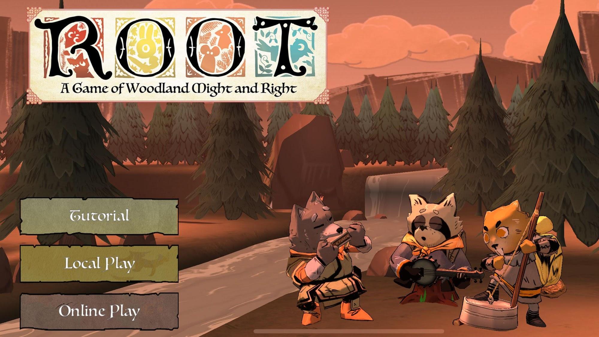 Root Board Game captura de tela 1
