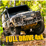 Full drive 4x4: Dirt trophy raid Symbol