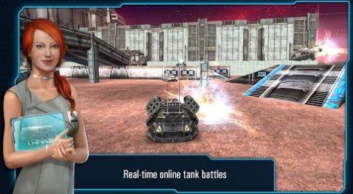 Actionspiele Iron tanks für das Smartphone