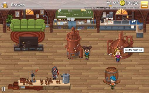 Strategiespiele Fiz: Brewery management game für das Smartphone
