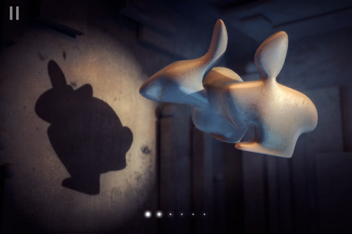 Screenshot Shadowmatic auf dem iPhone