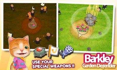 d'arcade Barkley Garden Defender pour smartphone