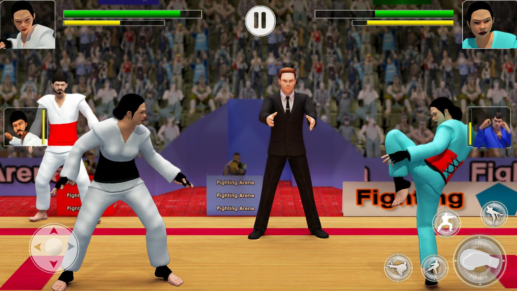 Karate Fighting Games: Kung Fu King Final Fight for Android