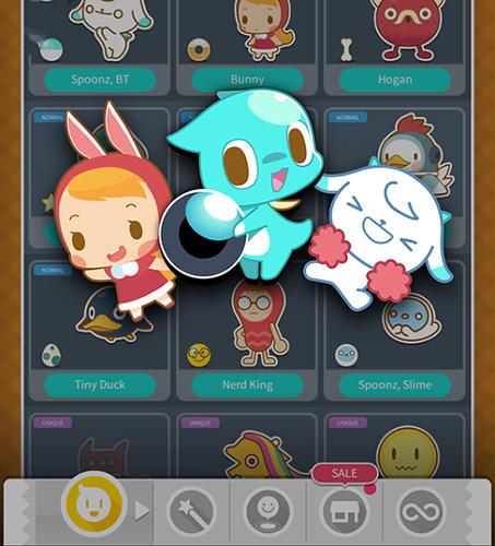 Logik Spoonz x blocks: Brick and ball für das Smartphone
