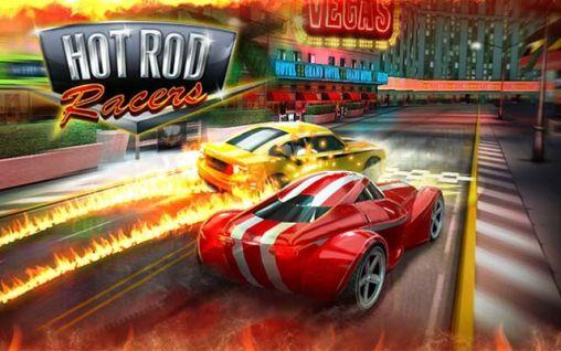 Hot rod racers ícone