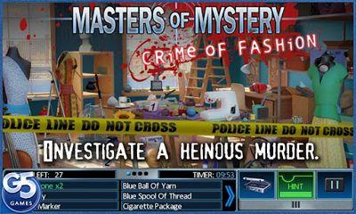 Abenteuer-Spiele Masters of Mystery für das Smartphone