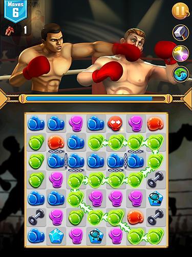 3 Gewinnt-Spiele Muhammad Ali: Puzzle king auf Deutsch