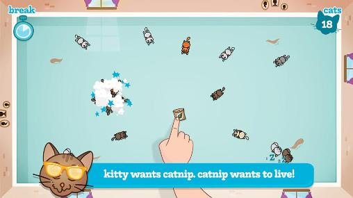 Arcade games Nippy cats for smartphone
