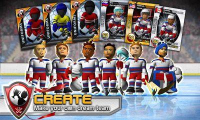 Спортивные игры: скачать Big Win Hockey 2013на телефон