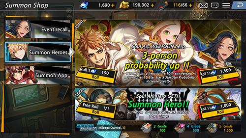 RPG Soul ark für das Smartphone