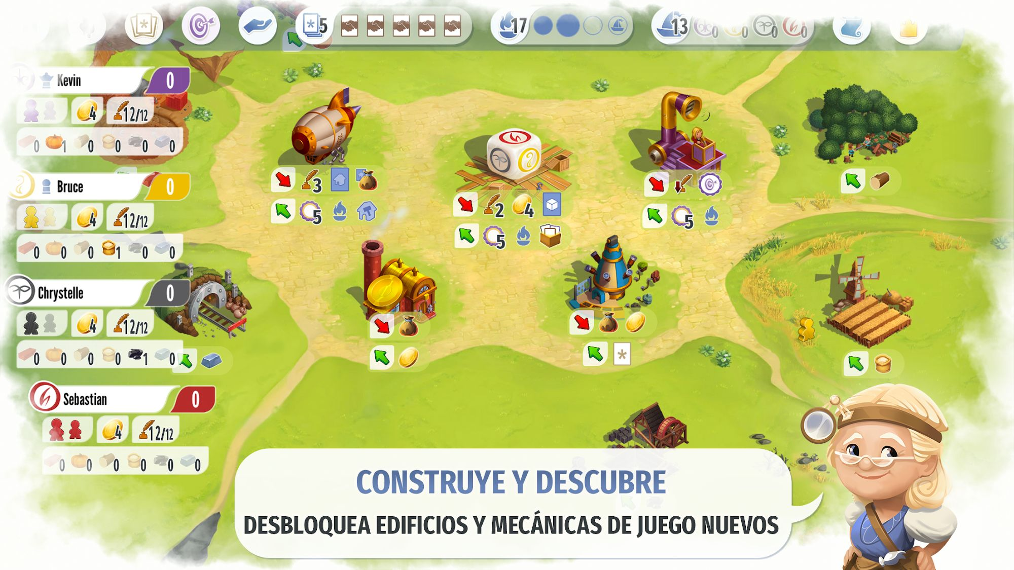 Charterstone: Digital Edition para Android