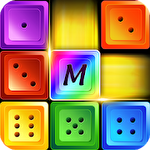 Dominoes jewel block merge Symbol