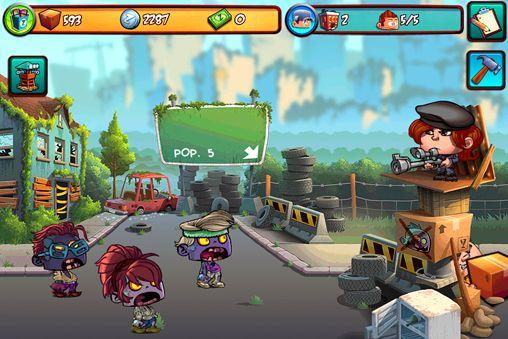 Скриншот Зомби вход запрещен на Айфон