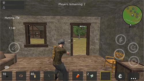 Shooter Thrive island online: Battlegrounds royale auf Deutsch