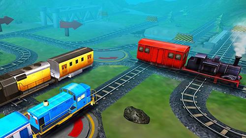 Train station conductor 3D en français