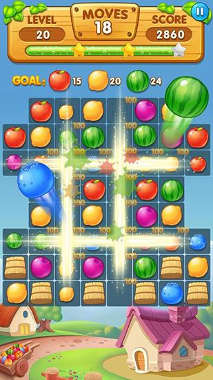 Arcade Amazing fruits für das Smartphone