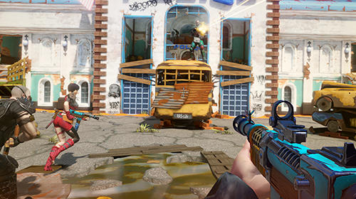 Bitter end: Multiplayer first-person shooter pour Android