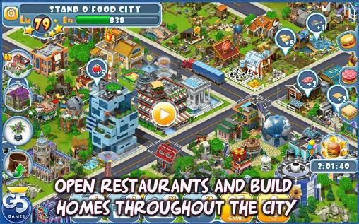Strategie Stand O'Food: City für das Smartphone