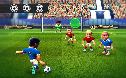 Fußball Boom boom soccer auf Deutsch