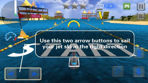 Extreme power boat racers Screenshot