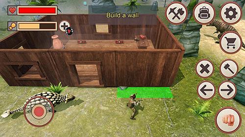 Jurassic dino island survival 3D Screenshot