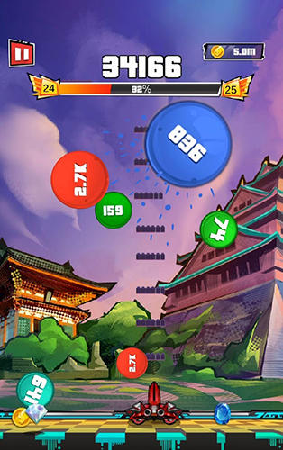 Arcade C.G.B. Car gun ball für das Smartphone