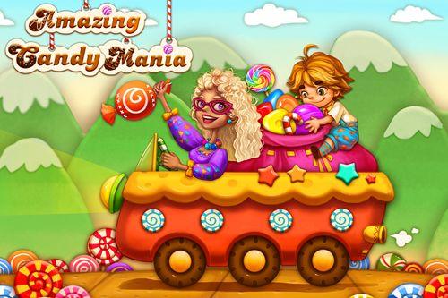 logo Amazing candy mania