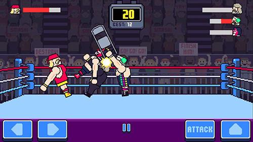 Rowdy wrestling screenshot 2