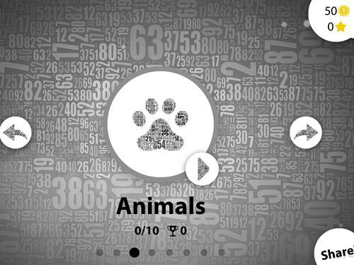 Arcade-Spiele: Lade Numerity auf dein Handy herunter