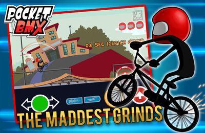 Les courses BMX de Poche pour iPhone gratuitement